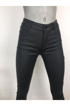 Vila Commit Coated Skinny Fit Jeans 14036194
