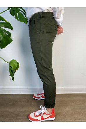 Selected Homme Slim Flex Chino 16074054-green oliv-34/32