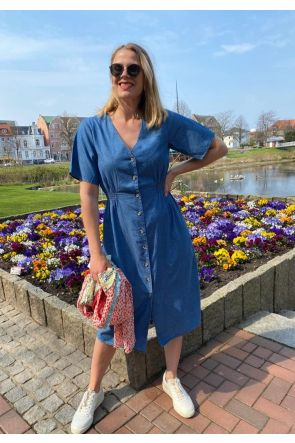Selected Femme Chambray Kleid