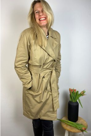 Selected Femme Trenchcoat 16076541 - sand